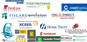 Canadian Mortgage Lenders Collage