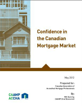 CAAMP Spring 2012 Mortgage Report